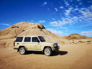 Our Rocky Desert Tour takes you to Namibia's grand Moonlandscape and the Swakop River Valley. The scenery and desert-adapted fauna and flora that occur here will make this an unforgettable experience.